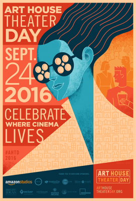 Art House Theater Day Poster