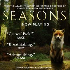 SEASONS, the Stunning New Nature Documentary, featuring Q&A's with Andy Lipkis of TreePeople.