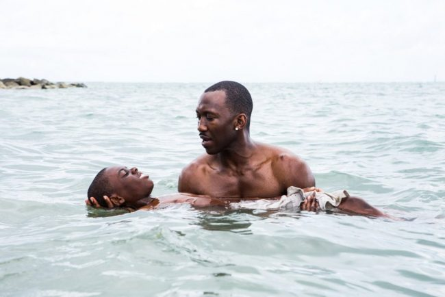 A scene from MOONLIGHT.