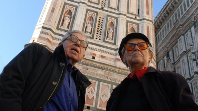 Paolo and Vittorio Taviani. Photo by Umberto Montiroli.