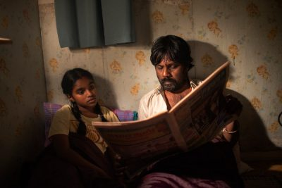 Claudine Vinasithamby and Jesuthasan Antonythasan in DHEEPHAN. Image courtesy of IFC Films.