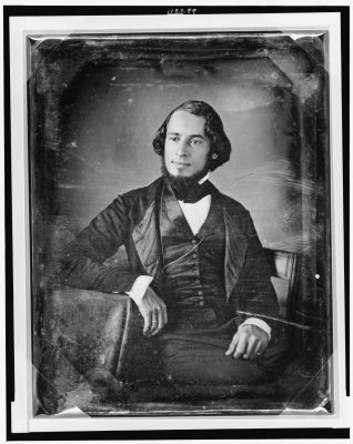 Solomon Nunes Carvalho. Dageerreotype courtesy of the Library of Congress.