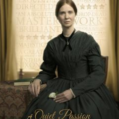 Food Historian Linda Civitello on Terence Davies' New Emily Dickinson Bio-Pic A QUIET PASSION.