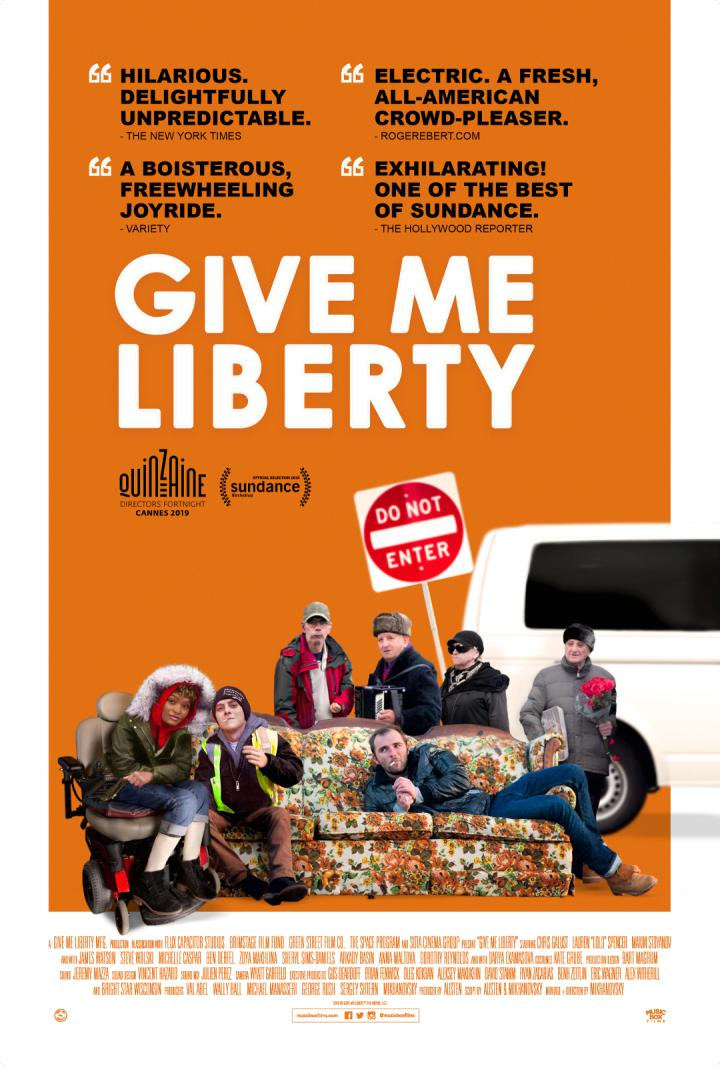 "Completely, Delightfully Unpredictable"" GIVE ME LIBERTY Opens ..."